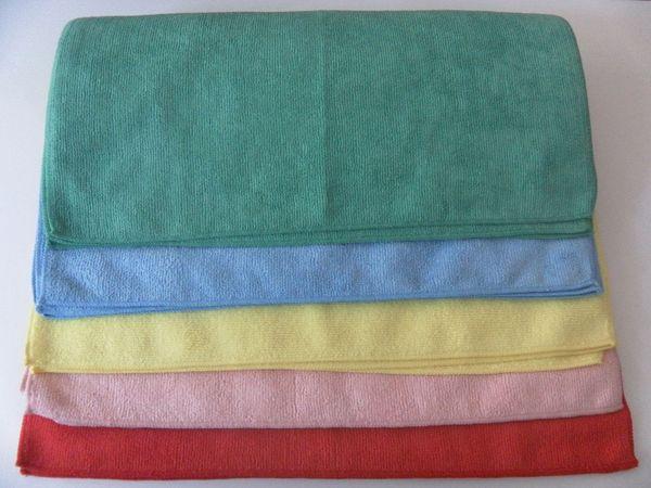 10pcs High Quality Microfiber Cleaning Towel Car Washing Nano Cloth Dishcloth Bathroom Clean Towels Rectangle 40x40cm