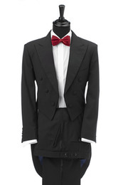 Men S Long Wedding Suit Canada - men tuxedo for wedding suits man custom made dress for dinner 2017 long tail high quality