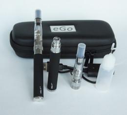 Wholesale Ego T Ce6 Case - HOT Auto EGO-T CE6 clearomizer 1100mah electronic cigarette-eGo Portable Leather Case