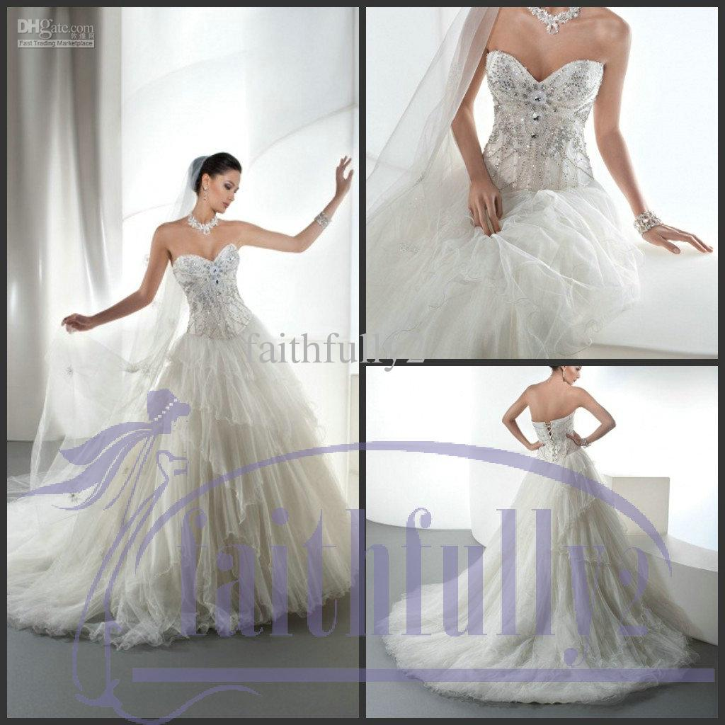 Sweetheart Beading Corset Bodice Sheer Wedding Dress Ball Gown Chapel Lace  Up Layered Bridal 2863 Fitted Wedding Dresses Gorgeous Dresses From  Faithfully2   Sweetheart Beading Corset Bodice Sheer Wedding Dress Ball Gown  . Corset Bodice Wedding Dress. Home Design Ideas