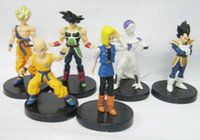 Wholesale Dragonball Figurine - retail Lot 6pcs DragonBall Dragon Ball Z Figure Figurine Set 3 Free Shipping Xmas gift