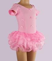 Wholesale Best White Blouses - 2012 Best-selling white short sleeve Children's Ballet skirt,kid tutu dance dress,girls dress,baby skirt Blouses