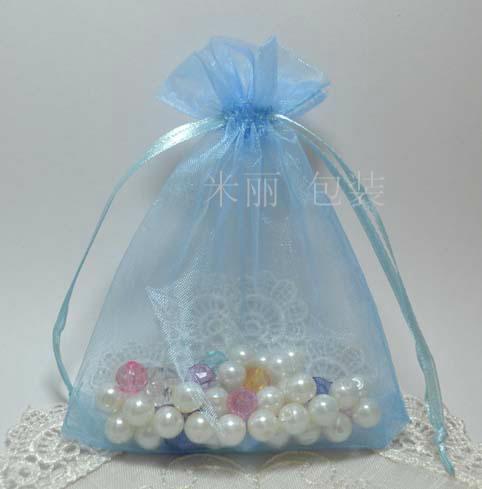 500 stks gemengde rechthoek organza bruiloft cadeau pouches tassen 12x9cm