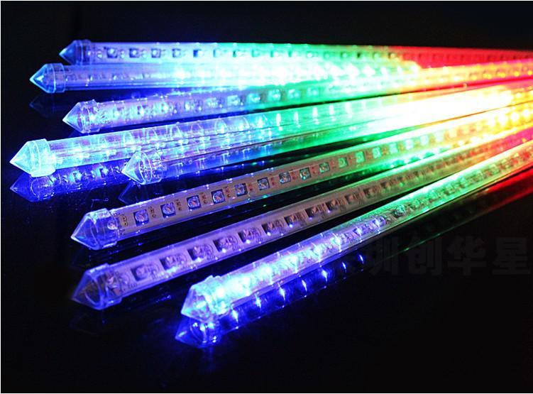 High Quality 60cm 64led 12v Led Christmas Meteor Rain Tube Light ...