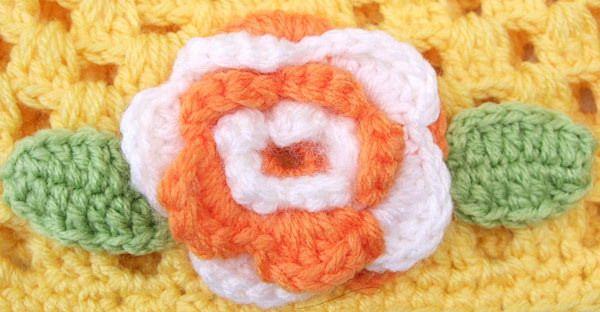 children knitted hats, baby flower princess knit hat, kids beret hat ,