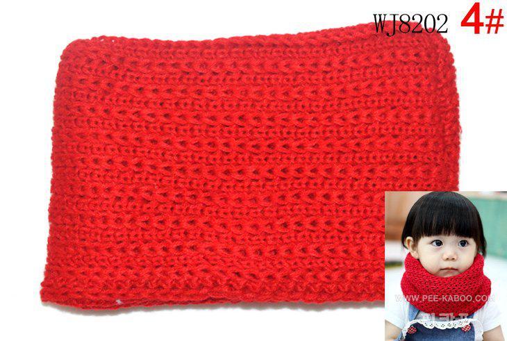 bufanda para niños, niñas niños dulces color sólido bufanda doble para niños, collares para bebés es, /