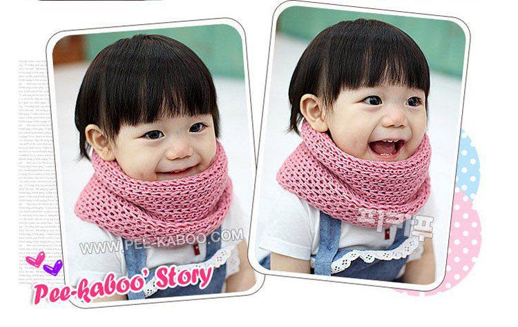 дети шарф мальчики девочки конфеты сплошной цвет двойной-дети шарф ребенка воротники 4 цвета, /много
