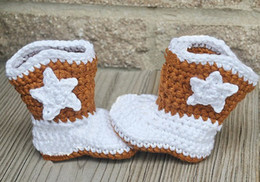 Discount infants crocheted booties - 15%off!Crochet Baby Booties,Baby Crib Shoes Baptism Shoes Footwear Cowboy Boots, Infant Sizes Made to Order 5pairs 10pcs