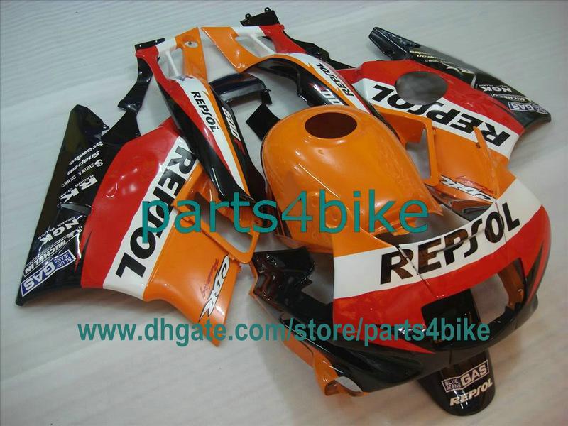 REPSOL ABS fairing kit for 1991-1994 Honda CBR600 CBR F2 91 92 93 94 CBR600F2 CBR600F bodywork gy5