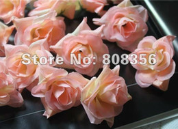 $enCountryForm.capitalKeyWord Canada - 100p Dia. 4.5cm Artificial Simulation Silk Camellia Rose Flower Head for DIY Brooch Headwear Ring Accessories Wedding Supplies