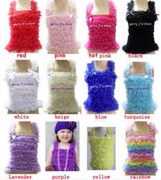 Wholesale Tank Tops For Girls Kids - Retail Children Girls Petti Tank Tops For Pettiskirt Baby Vest Kids Clothes Free Shipping 1 Pcs