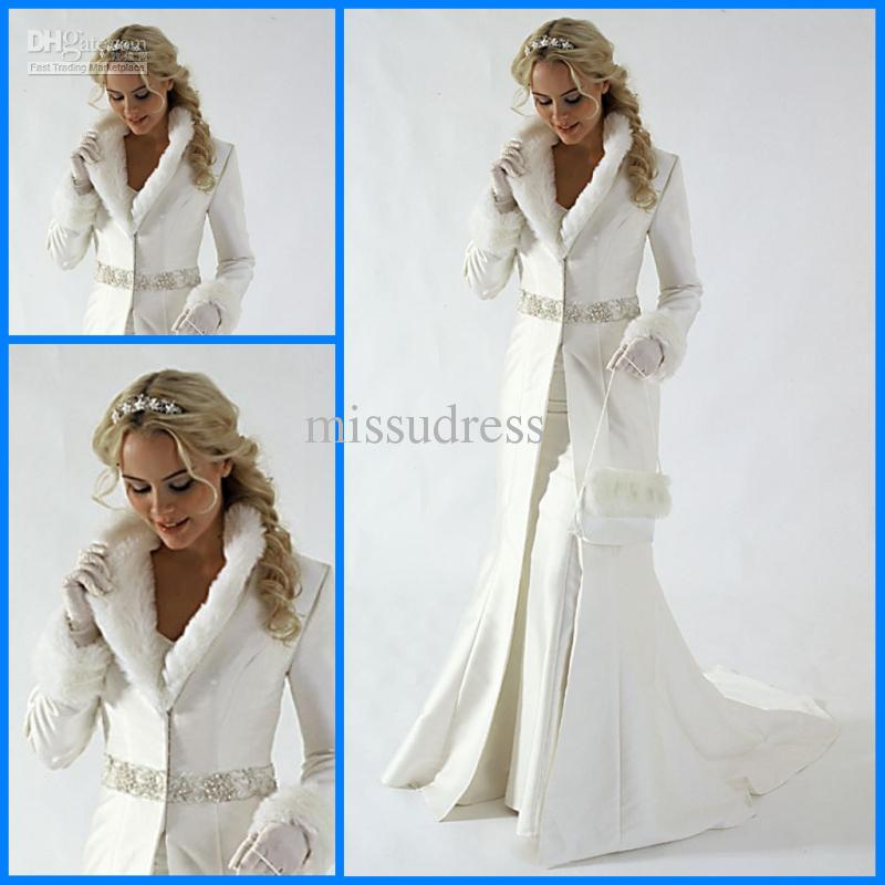 2014 Hot Style Classical Christmas Bridal Dress White Mermaid ...