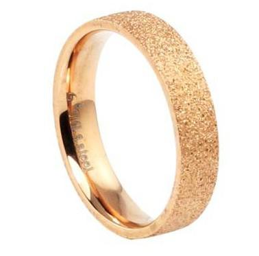 D070 New Arrival Gold Plated Stainless Steel Ring Girl Ring Man