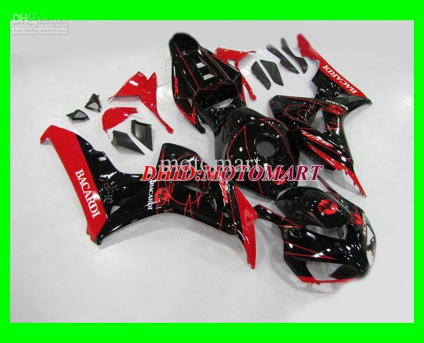 H224 RED black Injection Verkleidung für CBR1000RR 04 05 CBR 1000RR 2004 2005 CBR 1000 RR 04 05