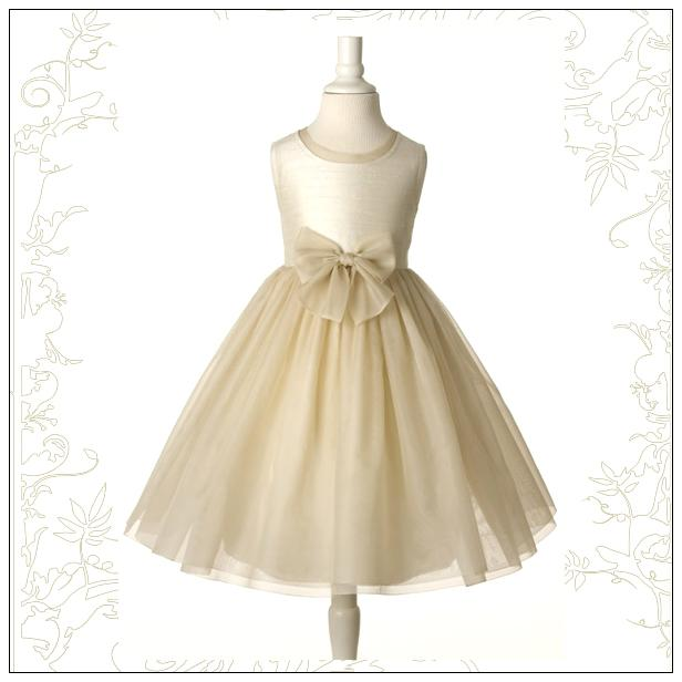 205. Ivory Wide And Champagne Straps Organza Wedding Gowns Flower ...