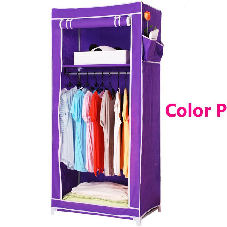 Lovely Yg123 Clothes Closet Wardrobe Armoire Storage Organizer Clothespress Canvas  Space Saver Cabinets