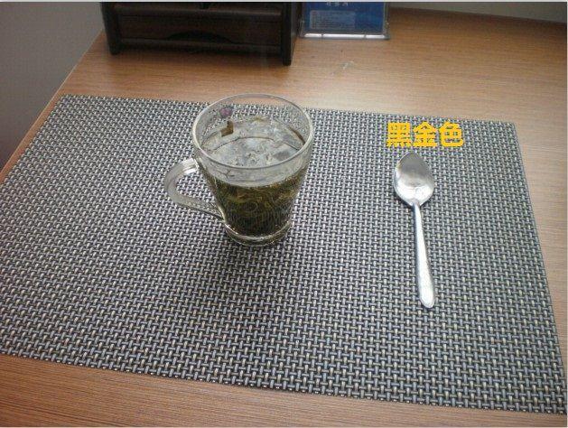 PVC+fibre Placemat Dish Mat Table Mat Table Organization 45x30cm 1001  BURIED TREASURE