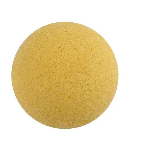 100 unids / lote Maquillaje Puff es 100% Natural Charcoal Konjac Facial Sponge Facial Wash Puff de limpieza