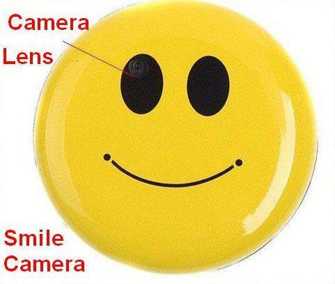 HD Mini Smile Face Spy Camera Hidden Cam DVR Video Recorder Camcorder DV Cam【US】