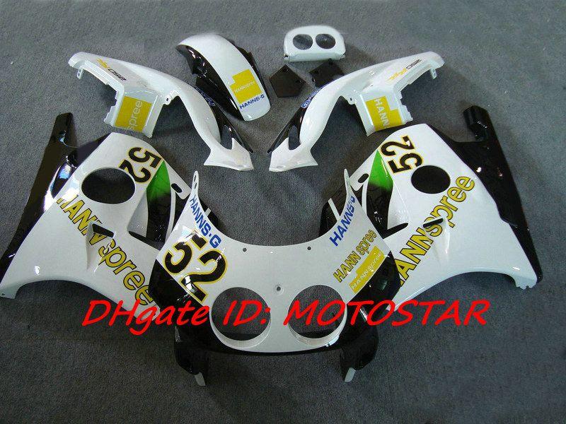 HANNSpree 52 fairing kit for Honda CBR 250RR MC22 1991-1998 CBR250RR CBR250 91-98 MC 22 ABS bodywork