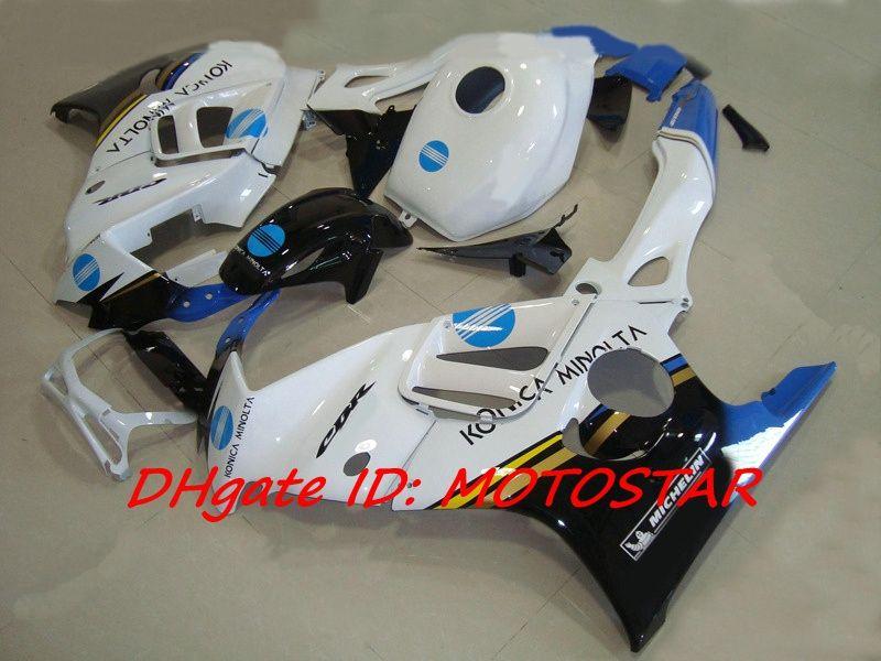Hoge Kwaliteit Konica Minolta Fairing Kit voor 1997 1998 Honda CBR600F3 CBR600 F3 CBR 600 F3 97 98 Valerijen