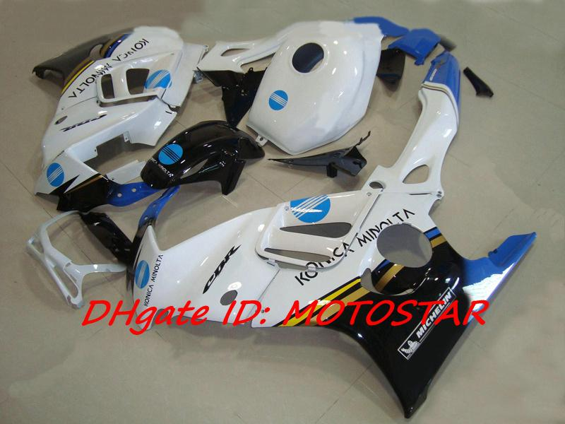 Konica Minolta fairing kit for 1997 1998 HONDA CBR600F3 CBR600 F3 CBR 600F3 97 98 fairings