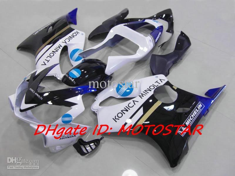 HONDA CBR600F4i 용 Konica 미놀타 ABS 페어링 키트 2001 2002 2003 01-03 CBR600 F4i 01 02 03 인젝션 페어링 키트