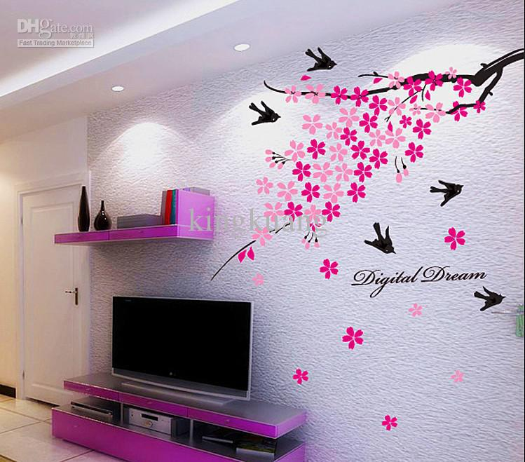 Plant Tree Wall Sticker Wall Art Stickers Sticker Dinding Islamic - Wall stickers art