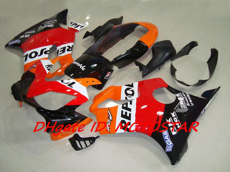 Repsol Bodywork Kit för Honda CBR600F4I 2004-2007 CBR600 F4I 04 05 06 07 CBR 600 Full Fairings