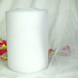 """Wholesale Easter Yard Decorations - White Tulle Roll 6""""x100 Yard Tutu Wedding Gift Bow Party DIY Hot"""