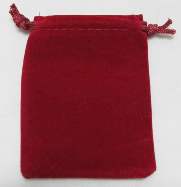 100 stks gemengde rechthoek fluwelen zakjes bruiloft geschenk zakjes tassen 11x15cm gemengde 3 kleuren