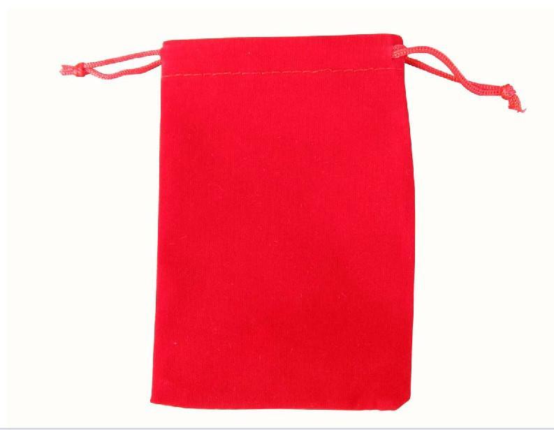 100 STÜCKE Gemischt Rechteck Samtbeutel Hochzeitsgeschenk Beutel 11x15 cm gemischt 3 farben