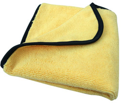 Wholesale Car Waxes - 50PC 360gsm 40cmx40cm Plush Microfiber Buffing Towel Microfiber car wax Polishing Cloths car cleaning cloths