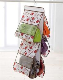 Wholesale Drop Purse Organizer - NEW Storage Bag Hanging Handbag Home Organizer Women Purses Handbag Closet Drop Shipping XMAS GIFT
