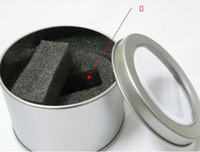 Wholesale Aluminium Circles - LED Silver Metal Watch Box Round Gift Stainless Steel Circle Iron BOX Package Boxes Aluminium Alloy