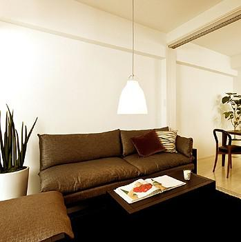 Modern Minimalist Glass Pendant Light Living Room Dining Room ...