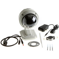 Wholesale Dome Ip Camera Outdoor 3x - PTZ Wireless IP WaterProof Outdoor 3X Dome Camera IR Night Vision WiFi Surveillance