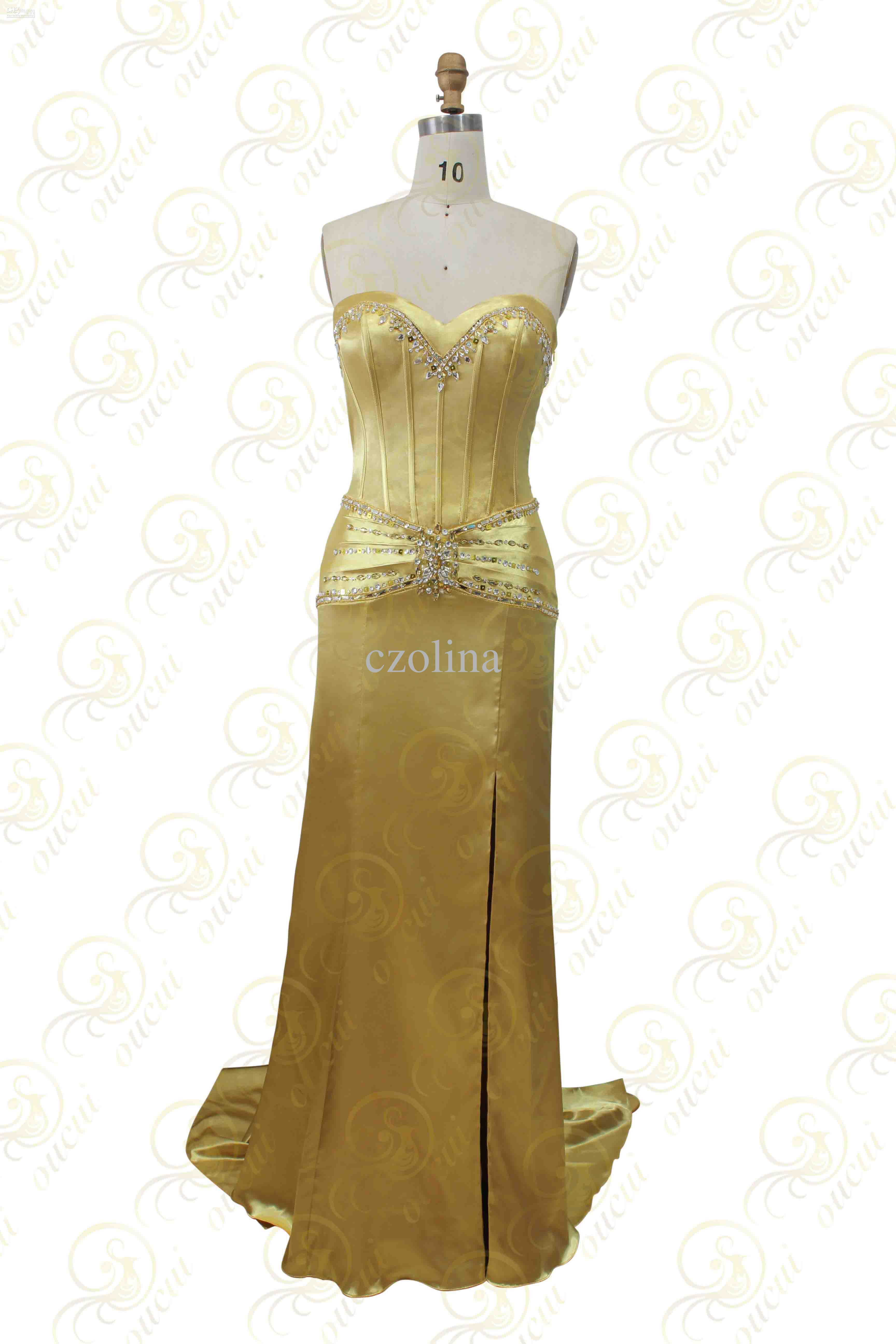 Satin Fabric Gold And Red Color Beading Handmade Sweetheart Name