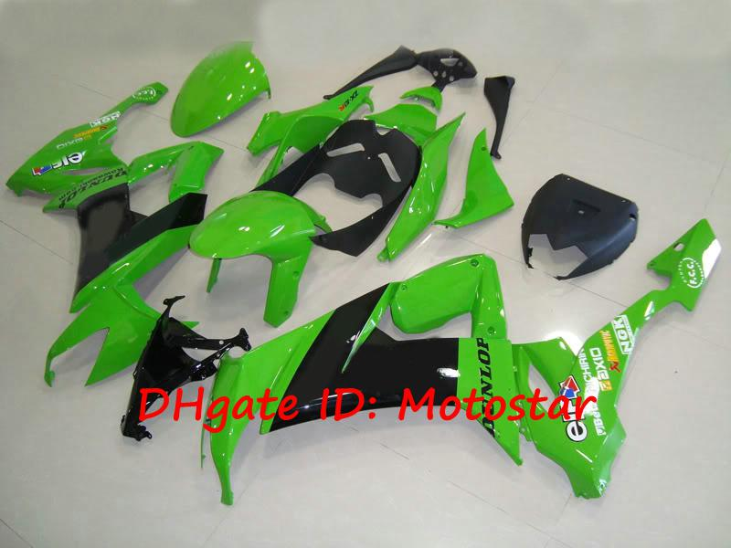 K1812 green bodywork for 2008 2009 KAWASAKI Ninja ZX-10R 08 09 ZX 10R ZX10R full fairing kit