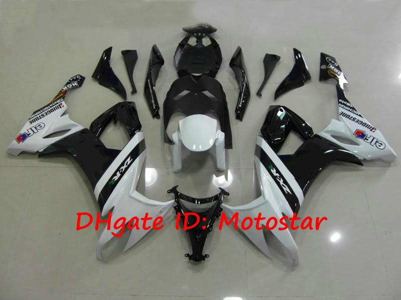 K1811 whtie MOTOGP bodywork for 2008 2009 KAWASAKI Ninja ZX-10R 08 09 ZX 10R ZX10R full fairing kit