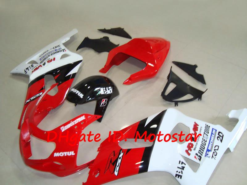 Kit de motos custom para SUZUKI GSXR 600 750 K1 2001 2002 2003 GSXR600 GSXR750 01 02 03 carroçaria