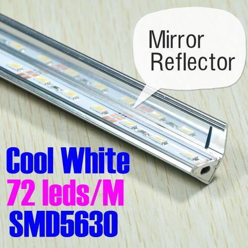Dhl Ems 72 Leds 1m Pc Cool White Aluminum Rigid Led Strip