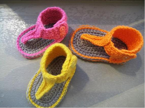 15% Pdf Pattern - Sandali gladiatore Booties Baby Sand / fatto a mano (5 paia / 10 pezzi)