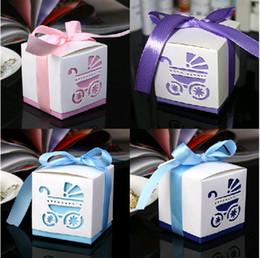 Wholesale Damask Wedding Favor Boxes - Free Shipping Damask Wedding favor paper box favour gift candy boxes 3 Colors 100p