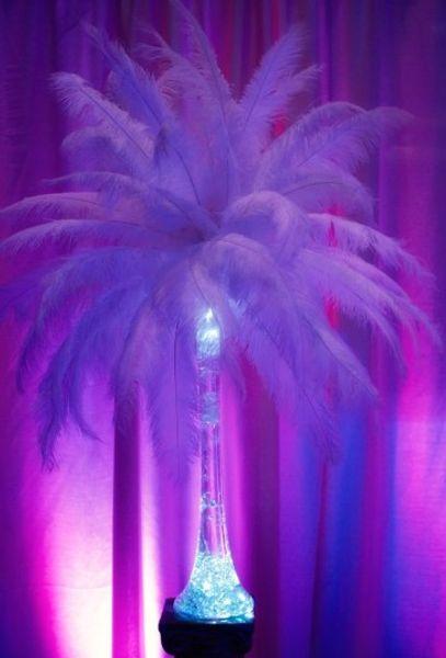 plumas de avestruz fiesta de boda centros de adorno decoracin decoracin artesana pulgadas colorido regalo