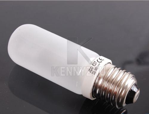 ストロベ懐中電灯照明のためのフォトスタジオ250W E27フラッシュライトモデリングランプ電球3200K 220V