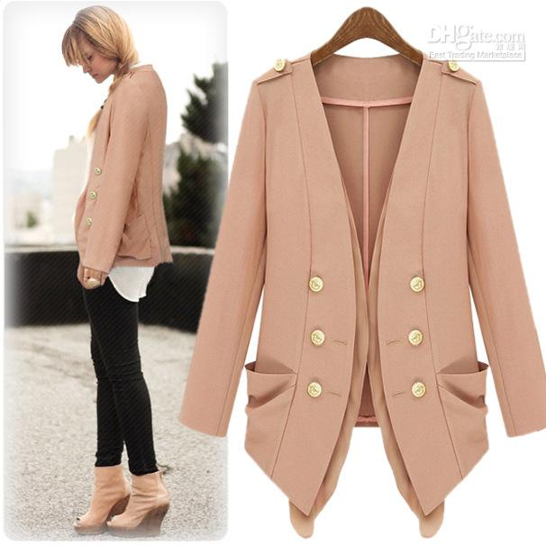 Coats Autumn New Star Models Women' Jackets Double Breasted ...
