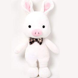 Wholesale Valentine Rabbit Gift - Kids gift Lovely Plush Toy Doll 55cm Pig Rabbit Stuffed Toy