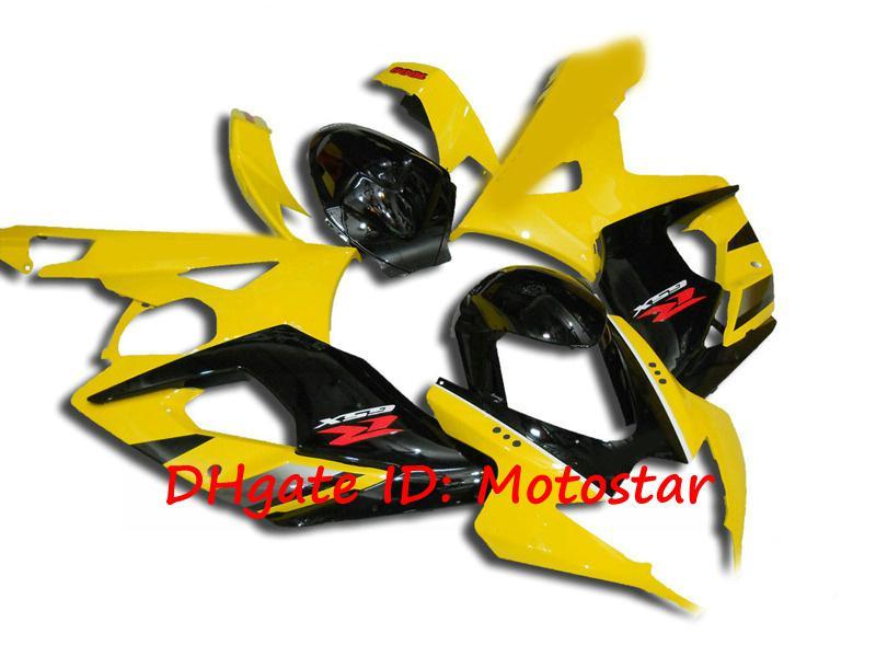 OEMイエローブラックボディワークのための鈴木2005 2006 GSX-R1000 K5 GSXR 1000 05 06 GSXR1000フェアリングキット