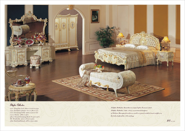 2019 Palace Royal Furniture,Hot Selling,Royal Luxury Bedroom Furniture ,  Italian Furniture From Fpfurniturecn, $14506.74 | DHgate.Com